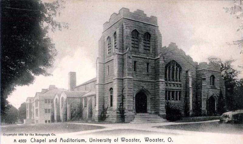 The College of Wooster Memorial Chapel.