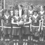 Smithville High School girls basketball team, 1928-29, Smithville, Ohio