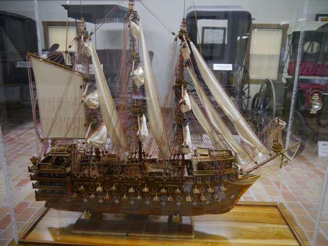 English Man of War Warship