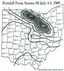 1969 Flood Rainfall Est.