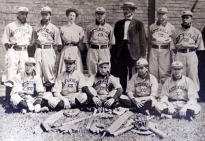 Gerstenslager Co. 1909 Baseball Team