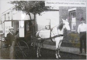 David Leisy's Mail Wagon