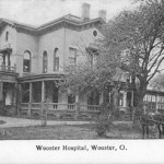 Wooster Hospital, circa 1907