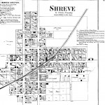 Map of Shreve, Ohio, from 1873 Caldwell's Atlas of Wayne Co. and of the City of Wooster Ohio