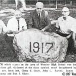 Wooster High School Rock of 1917