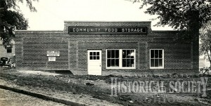 Wooster Community Food Storage building was built by general contractor Lake L. Webb.