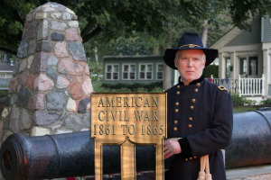 Dr. Brian Beam as General Sherman