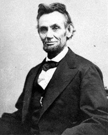 Abraham Lincoln - one of his last photographs (mrlincolnswhitehouse.org)