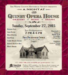 2015 Opera House Poster