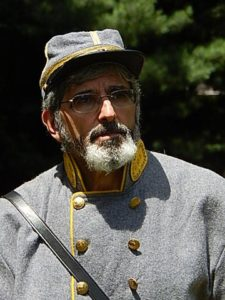 John C. Spaziani as the Confederate Gen. Samuel Cooper